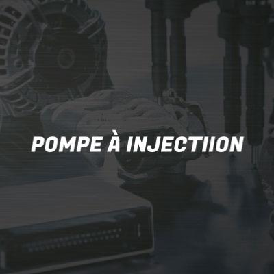 Pompes à injection
